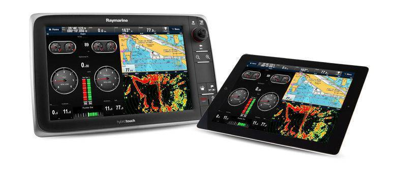 Display eSeries HybridTouch Raymarine