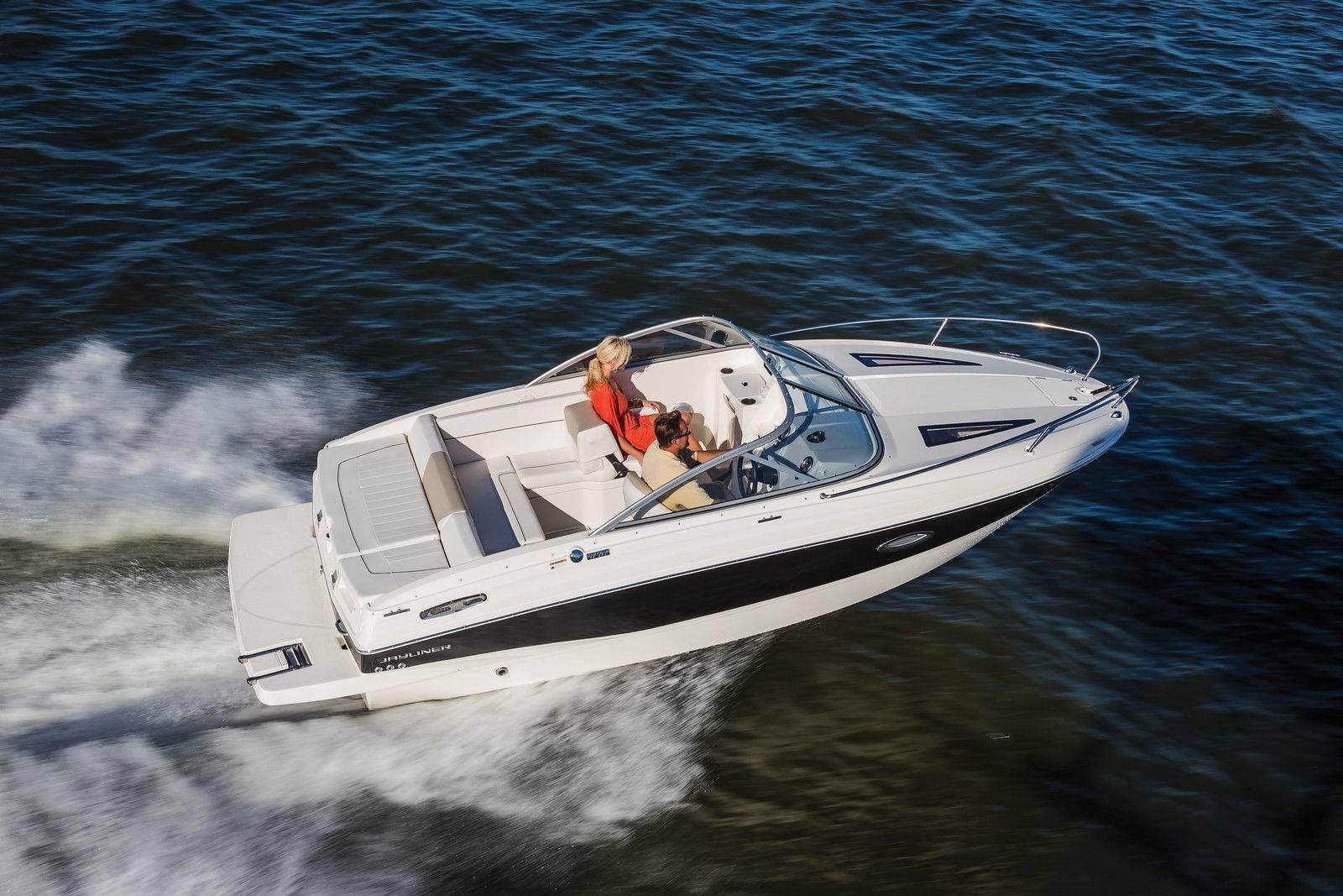 Barche a motore bayliner 642 cuddy for Barche al largo con cabine