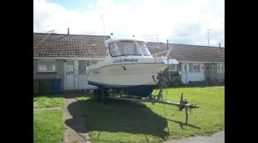Quicksilver 580 Fishing Boat