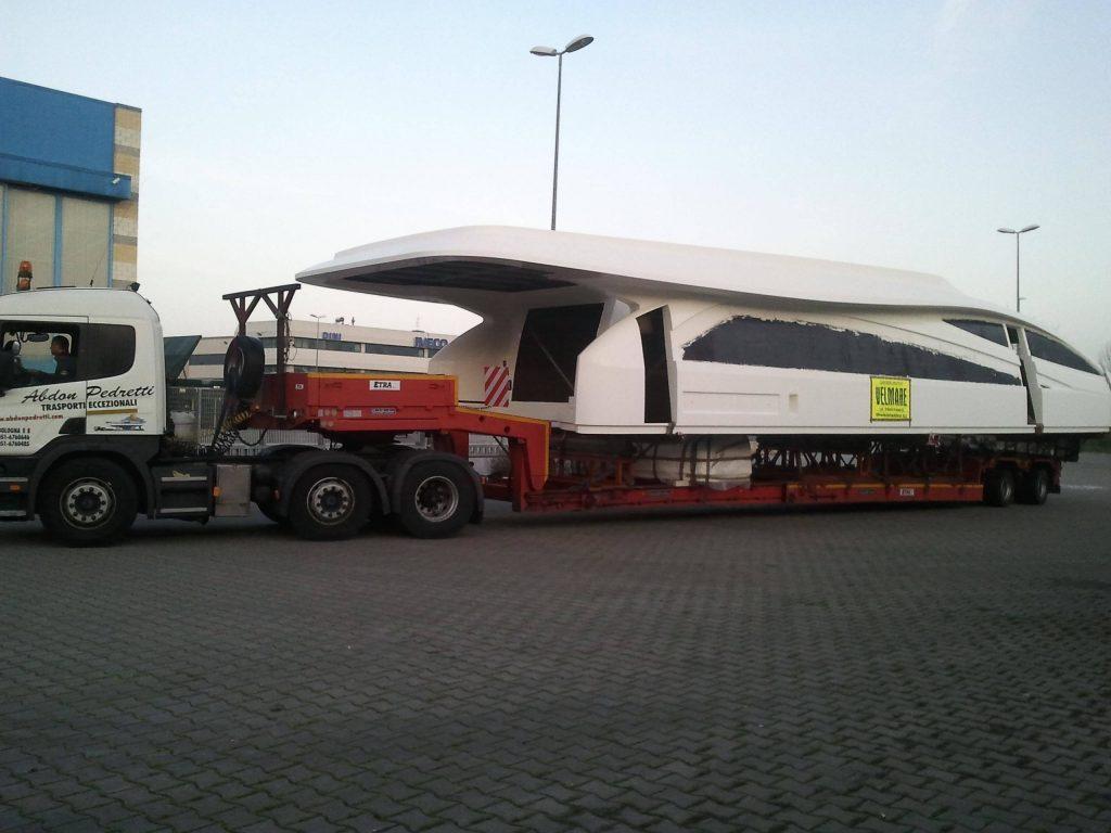 Amer 94', il trasporto