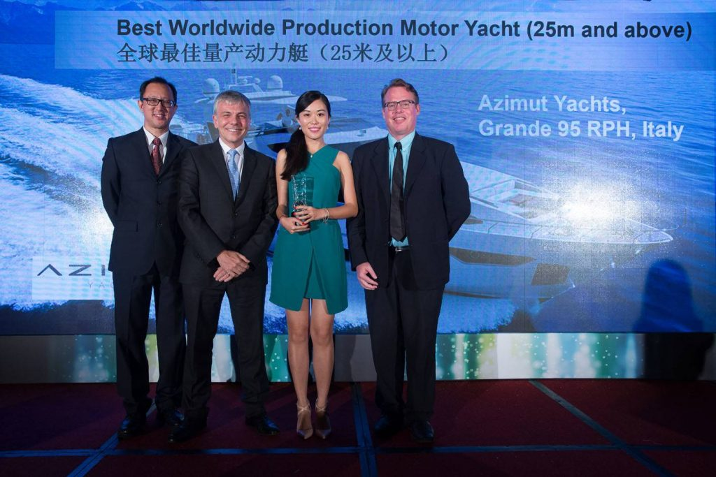Azimut Benetti Group si aggiudica importanti riconoscimenti all'Asia Boating Awards 2015