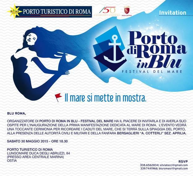 Festival del Mare: inaugurazione 30 maggio, ore 18:30