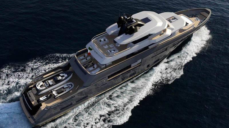 Un innovativo progetto di yacht per lo studio Zuccon