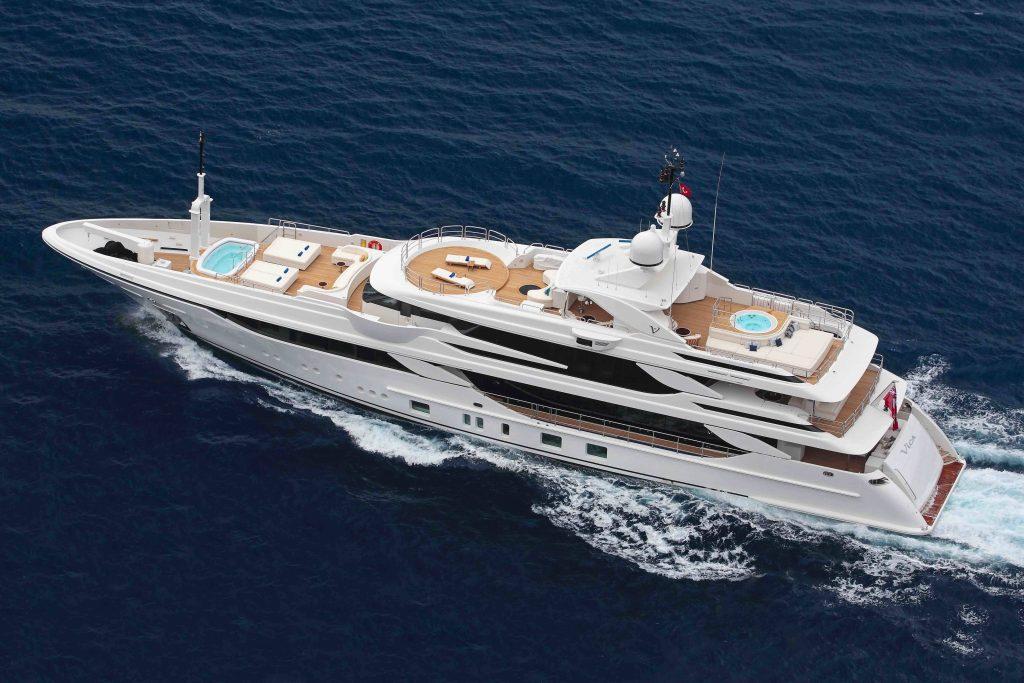 Uno scafo innovativo e prestazioni eccellenti per la nuova Benetti FB801 M/Y VICA
