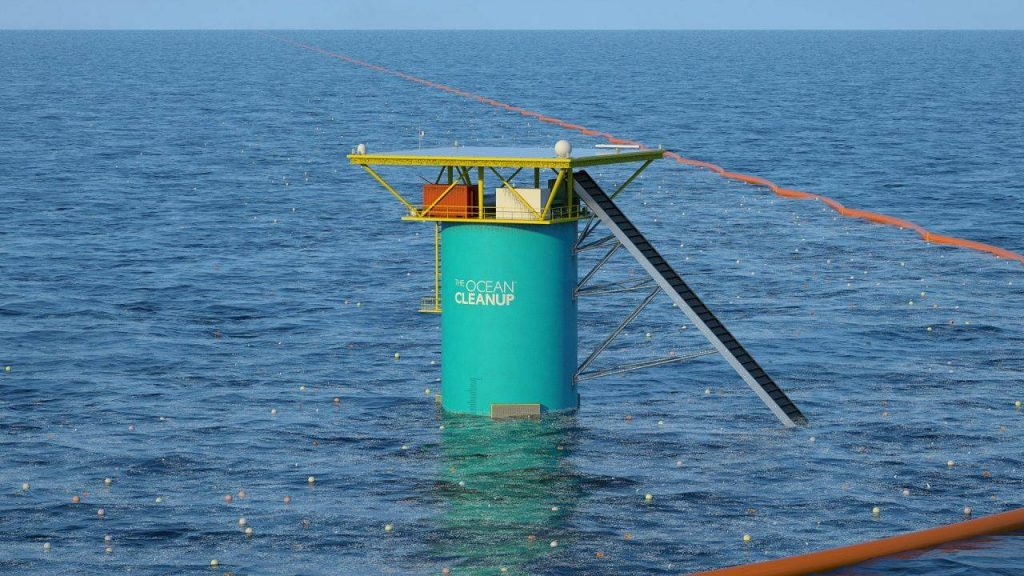 Al via nel 2016 il progetto Ocean Cleanup per la bonificazione degli oceani.