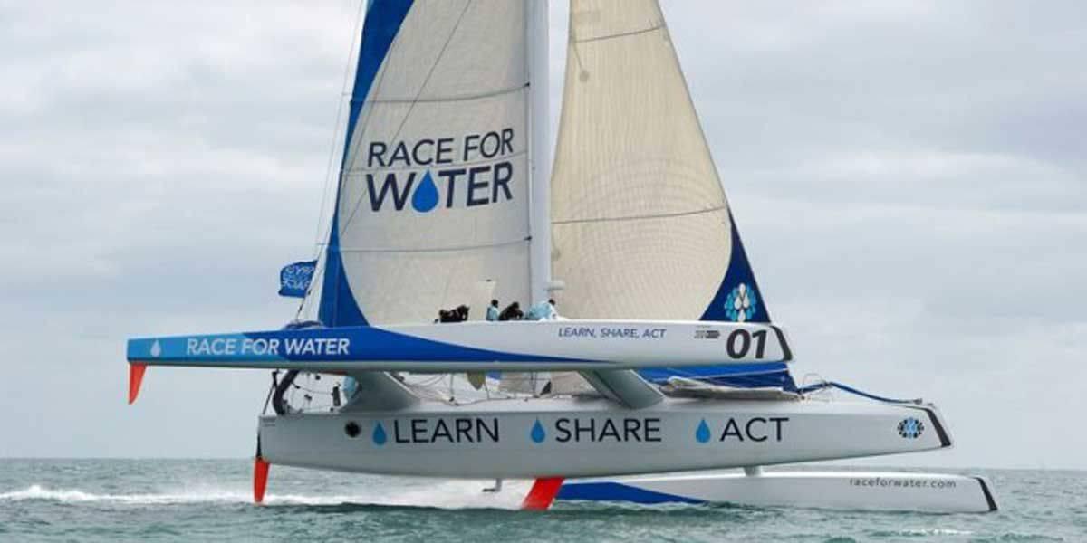 La Race for Water Odyssey contro l'inquinamento degli oceani