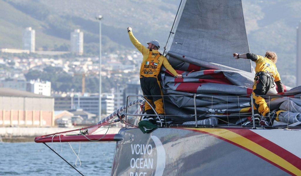 Il team Abu Dhabi incoronato vincitore in Svezia della Volvo Ocean Race