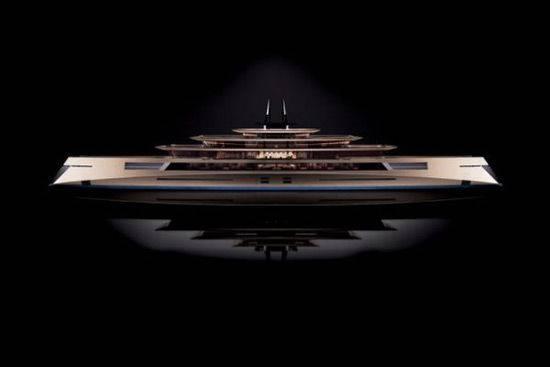 Yacht, ecco il più grande del mondo e...simmetrico