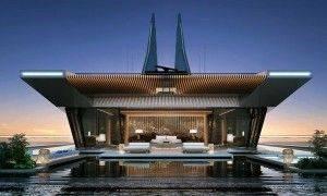 Sinot Design Symmetry superyacht concept - slide a1