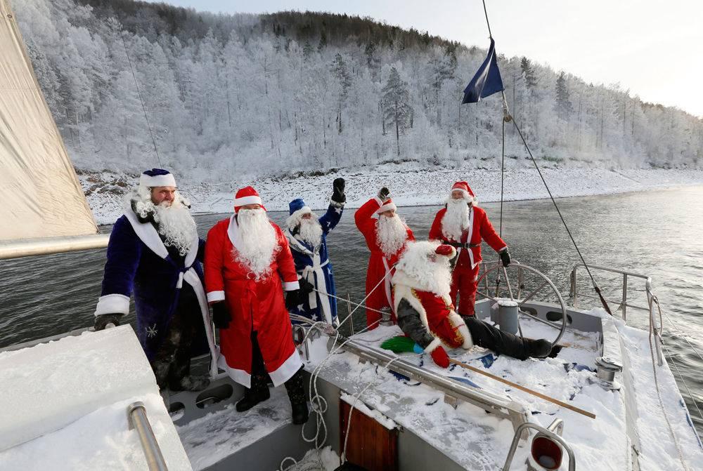 Navigare in inverno, bello e possibile.