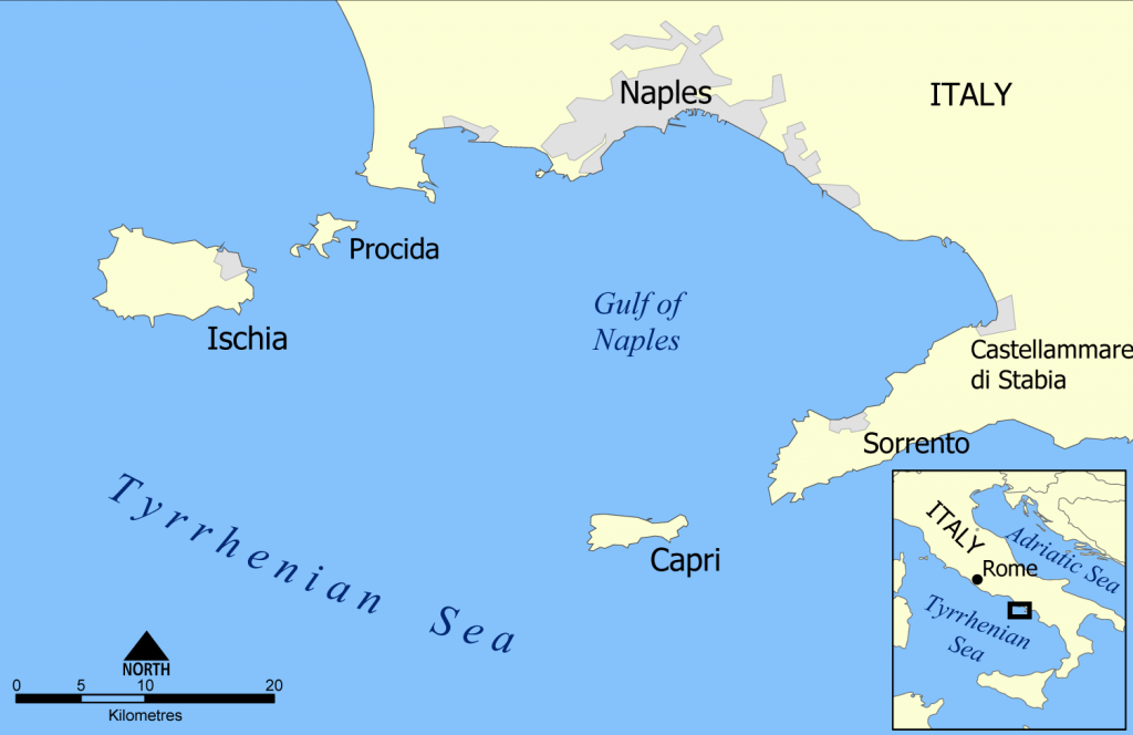 Capri_and_Ischia_map
