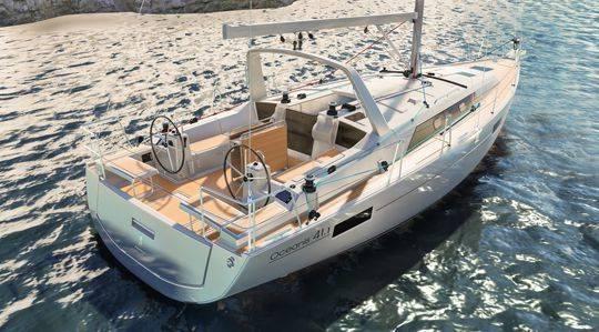 Oceanis 41.1, un cruiser che ha voglia di correre