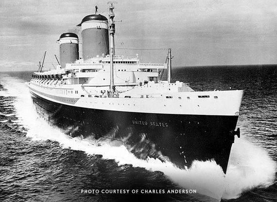 Se una nave diventa monumento nazionale: la storia della SS United States