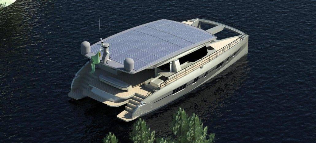 Solarwave: 62 piedi, 2 scafi, 0 emissioni