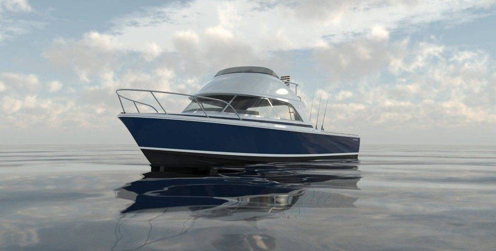 bertram 35 rendering