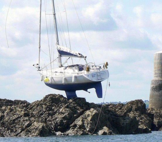 Barca incagliata, ecco i trucchi per liberarsi