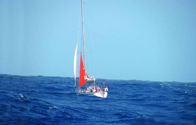 1.500 miglia di Atlantico senza timone
