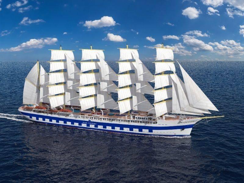 È cominciata la costruzione della più grande nave a vela del mondo