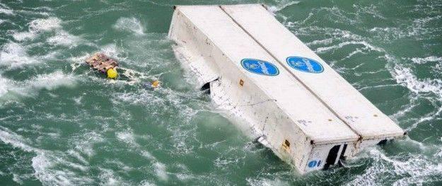 Avviso ai naviganti: container alla deriva (e questa volta non sono paperelle)