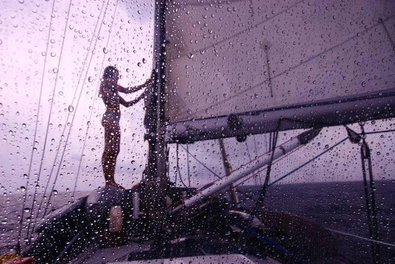 Capitan Liz: da 10 anni sola in Pacifico, naturalmente su una barca a vela
