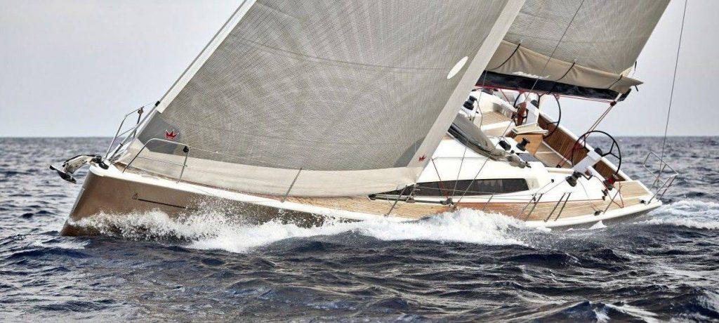 Dehler 46, prova in mare