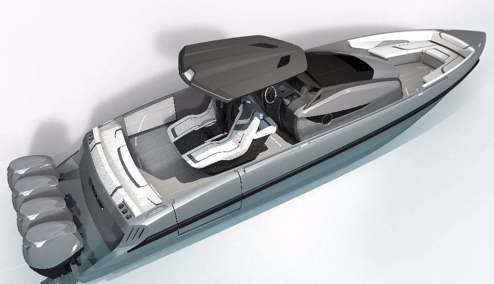 Revolver boats guarda agli USA e agli UAE: ecco le immagini del nuovo 43 CC