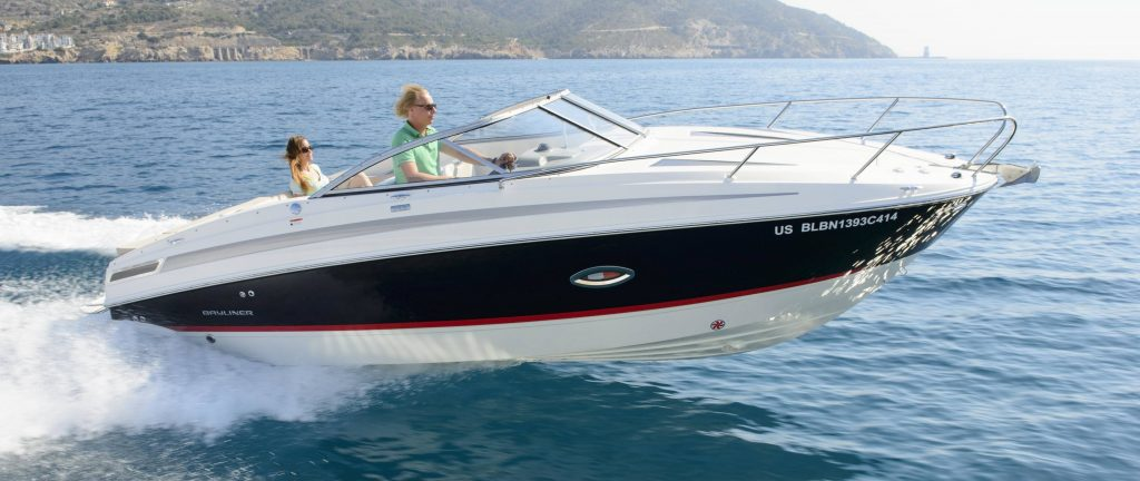 Prova in mare, Bayliner 742 Cuddy.