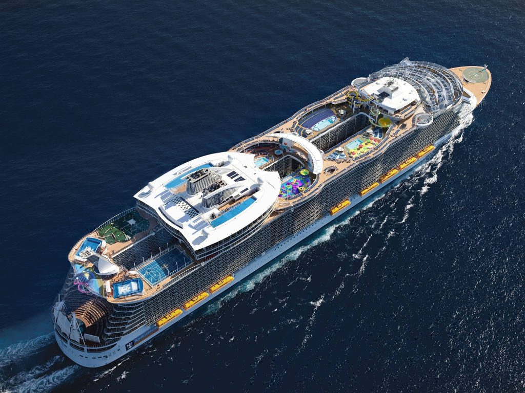 nave da crociera harmony of the seas