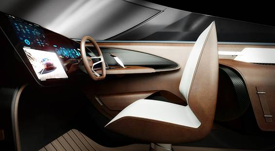 Aston martin Interior side