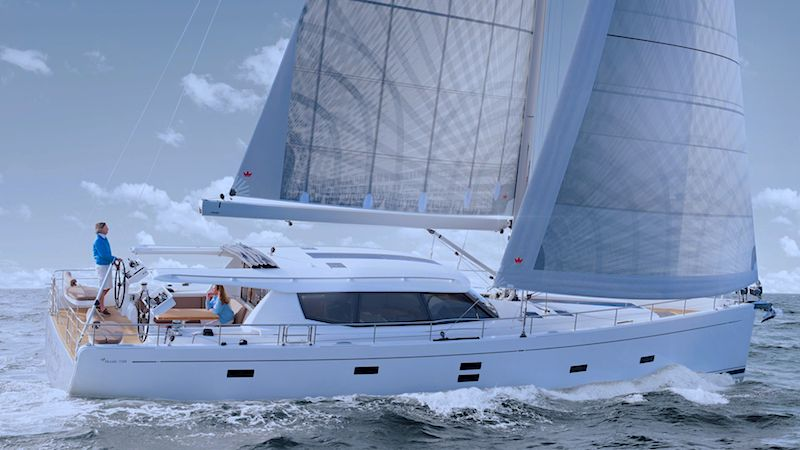 Moody 54 DS Sailing