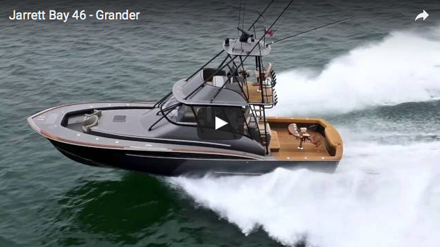 46' Grander: anche i puristi dei fisherman cedono al design - Il video