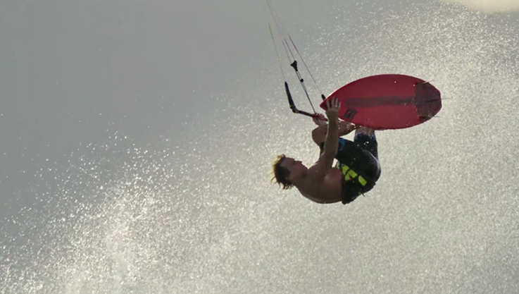 Chapter One, The Kiteboard Legacy Begins. il primo grande film sul kitesurf
