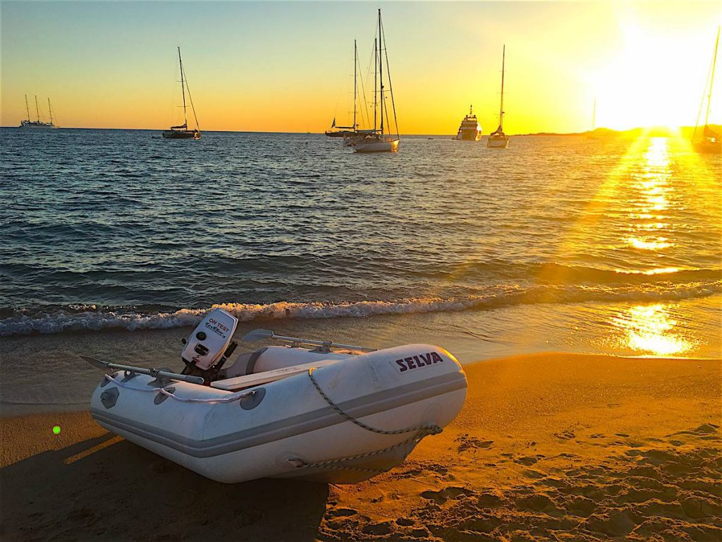 test selva 270 VIB sunset