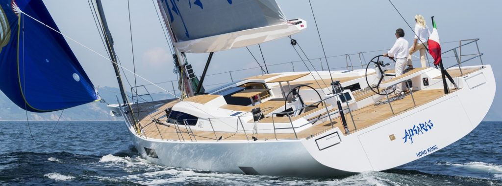 Advanced Yachts A80 gennaker