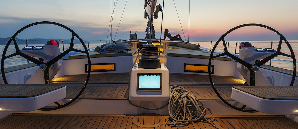 Advanced Yachts A80 sunset 3.