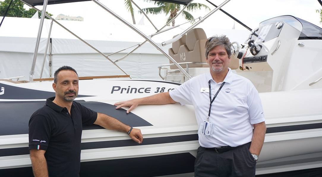 nuova jolly marine prince 38 Fort Lauderdale Boat Show