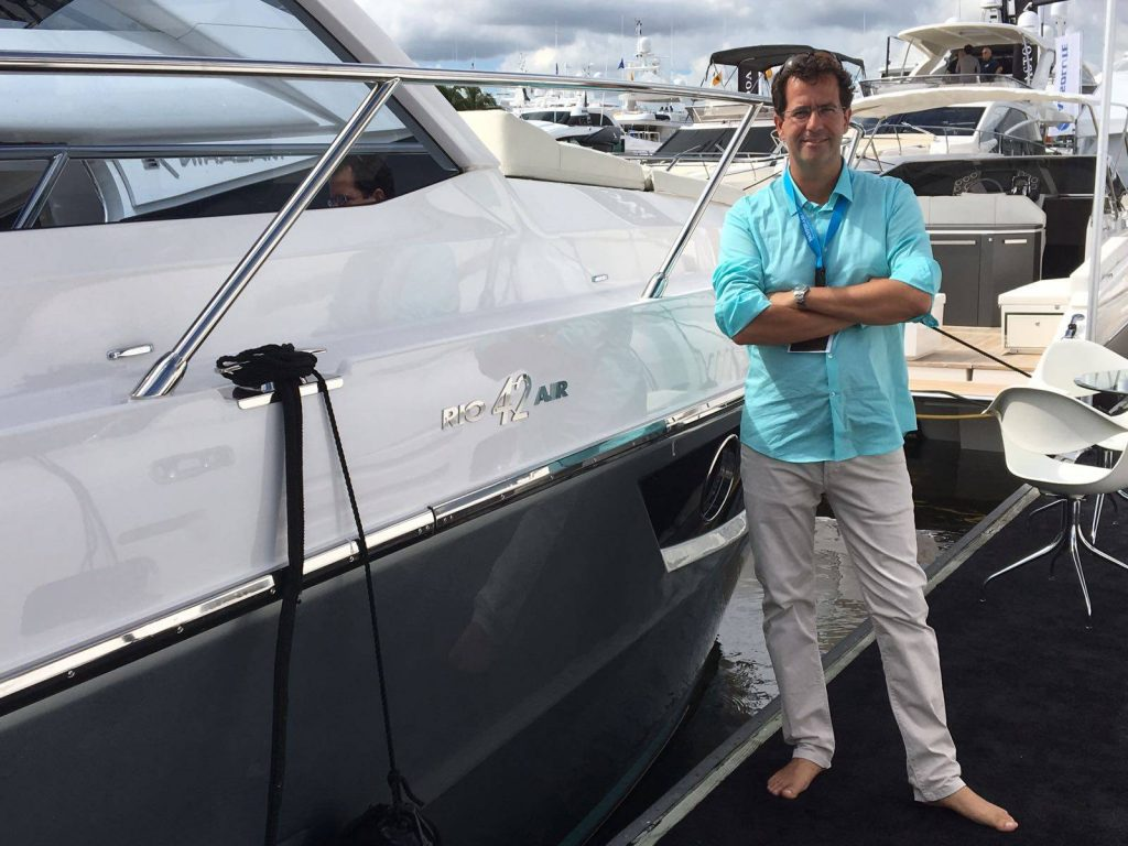 Massimo Jannone, Rio Yachts al Fort Lauderdale Boat Show
