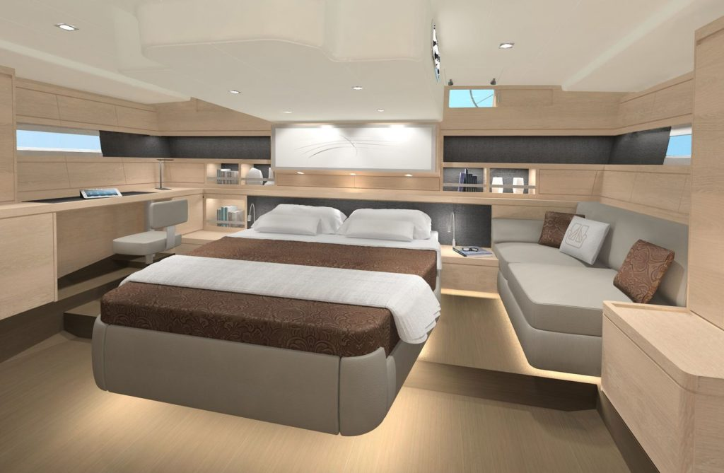 Dufour Yachts Exclusive 63 cabina principal