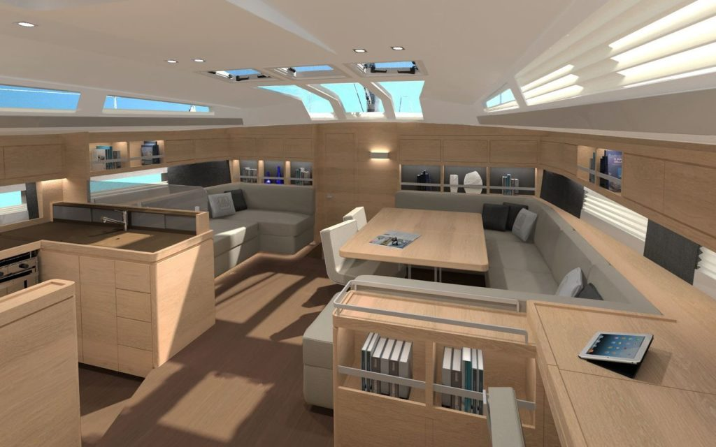 Dufour Yachts Exclusive 63 comedor