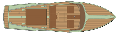 minncraft 26 summuit-Boat-Top-View