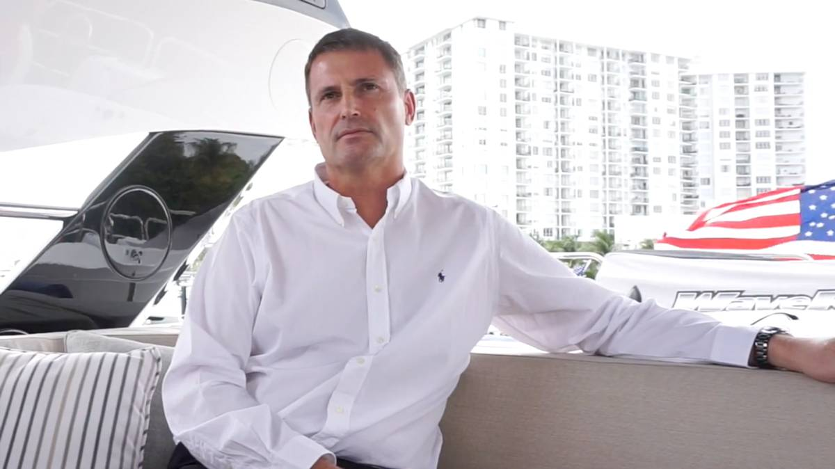 Phil Popham CEO Sunseeker