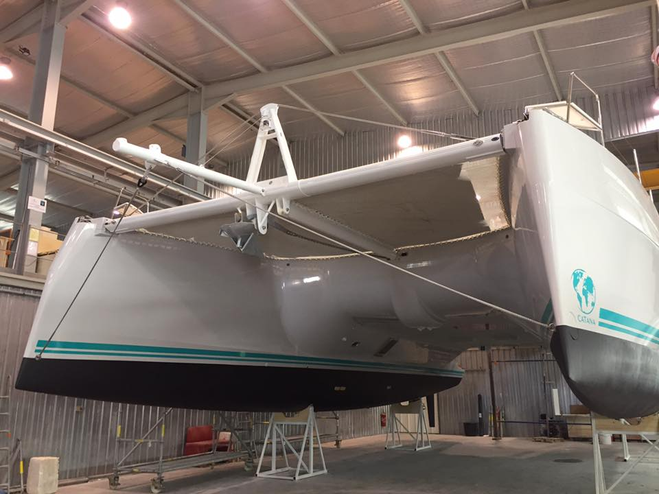 Catana 53 in cantiere