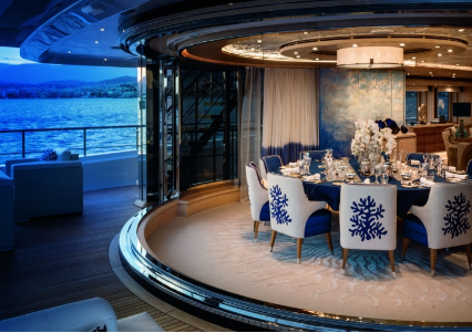CRN Yachts Cloud 9 zona dining
