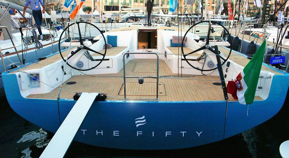 The Fifty, il primo Eleva Yachts al salone di Cannes. Più bello che mai
