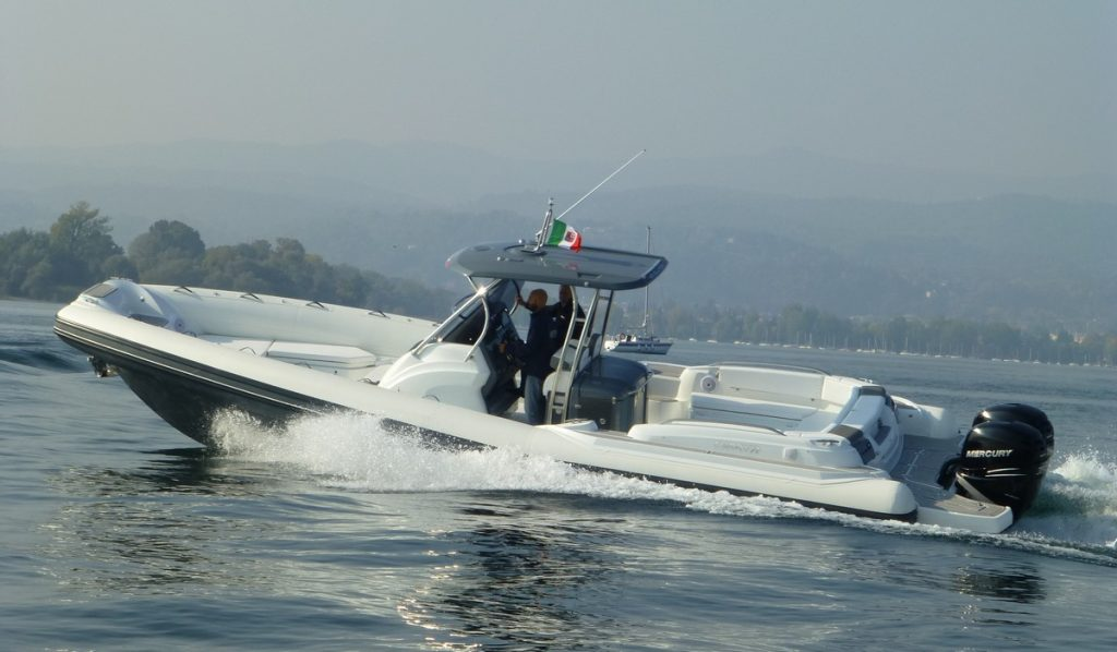 Test Mar-co 35 R-Evolution , il gommone natante per chi pensa in grande