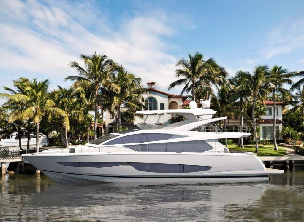 Pearl Yachts - P80 moored2