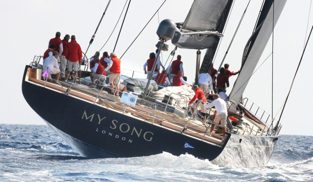 Il Baltic 130 My Song vince l'International Superyacht Society Awards 2017 al FLIBS