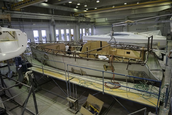 Elan Yachts cantiere