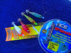 lures for squid fishing