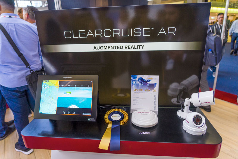 Clear Cruise Augmented Reality DAME AWARDS